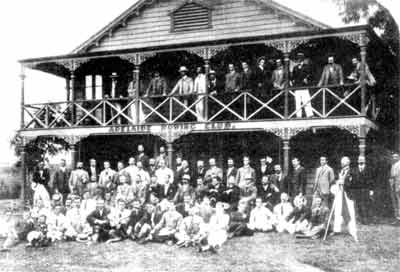 1902 Group in front of the Clubhouse