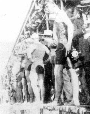 Swimming Races at Glenelg in 1906