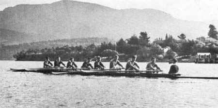 1948 Men's Eight in Hobart