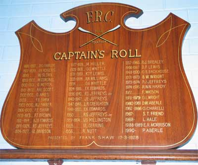Captains Board in 2005