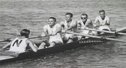 1961 NSW Lightweight Four in training