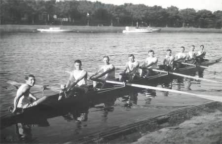 1928 Maiden Eight at Henley on the Yarra