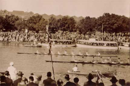 1931 Senior Eight at Henley