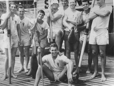 1958 Mercantile at Sydney Rowing Club