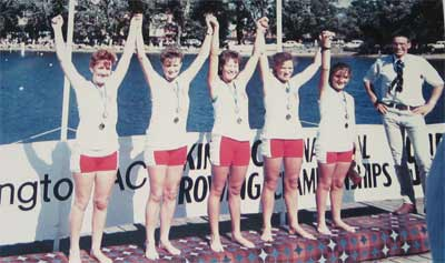 1985 National Championship Women's Under 23 Lightweight Four