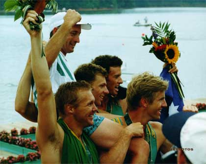 1996 Men's Four & Coach