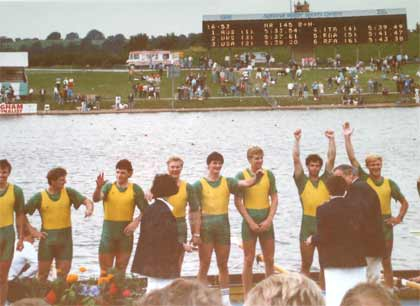 1986 World Championship Eight