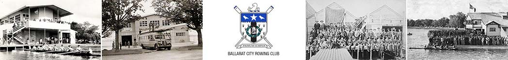 Ballarat City Rowing Club History