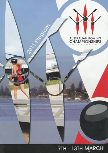2011 National Championships Programme Cover