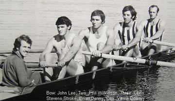 1972 National Champion Men's Coxed Four