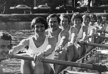 Melbourne University Lightweight Eight
