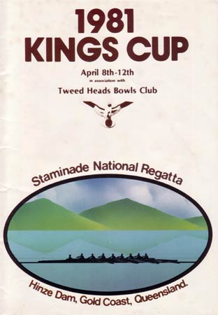 1981 Programme Cover