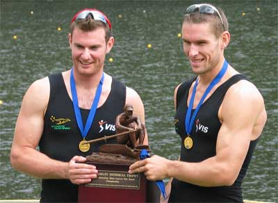 Men's pair presentation