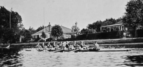 1912 Mens Eight at Bourne End