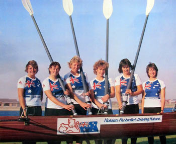 1984 Australian women's coxed four