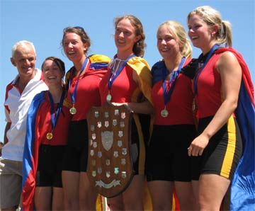 2008 Winning Girls Ballarat Head of the Lake