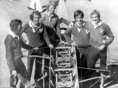1977 Men's Lightweight Coxless Four