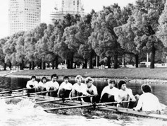 1977 Men's Lightweight Eight Training
