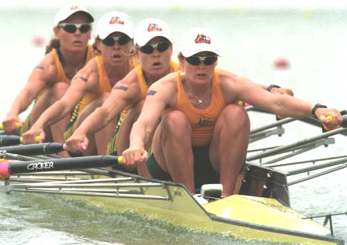 Australian Women's Lightweight Quad Scull